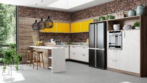 Cozinhas planejadas que você precisa conhecer - Bella Kaza - Móveis