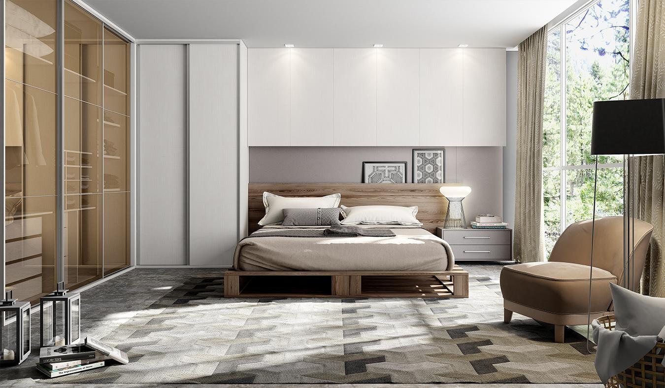 Planejando um quarto pequeno de casal Bella Kaza  ~ Quarto Casal Design